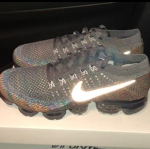 Vapormax 2018 Gray Multi with Reflective swoosh